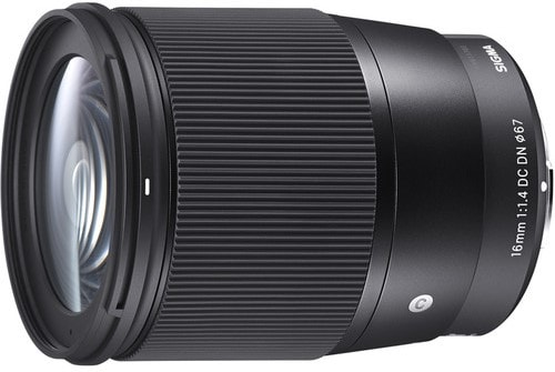 Sigma 16mm F 1.4 DC DN Contemporary Lens