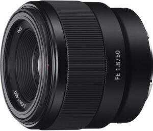 Sony - FE 50mm F1.8 Prime Lens