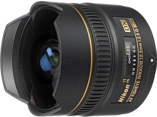 Nikon AF DX NIKKOR 10.5mm F2.8G