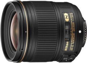 Nikon AF FX NIKKOR 28mm F1.8G Wide-angle Prime Lens