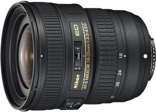 Nikon AF-S FX NIKKOR 18-35mm F3.5-4.5G ED Zoom Lens