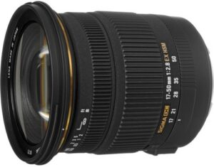 Sigma 17-50mm F2.8 Zoom Lens