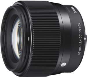 Sigma 56mm F1.4 DC DN Contemporary Lens
