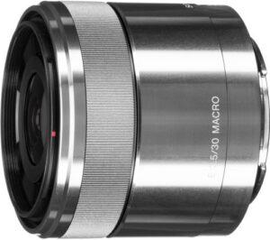 Sony E 30mm F3.5 Macro Fixed Lens