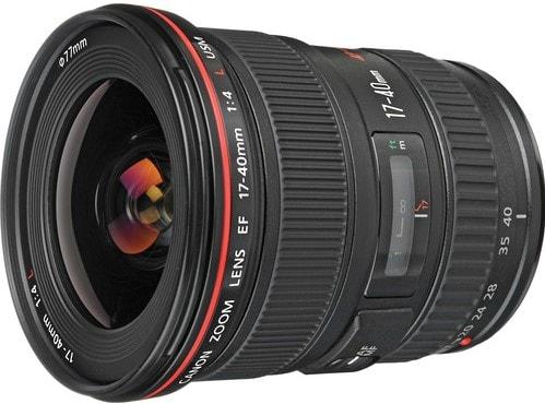 Canon EF 17-40mm F4L USM Ultra Wide Angle Zoom Lens