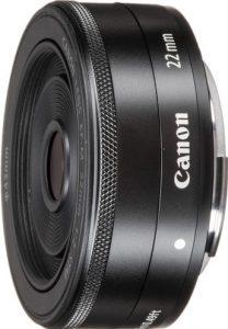 Canon EF M 22mm F2 STM Lens