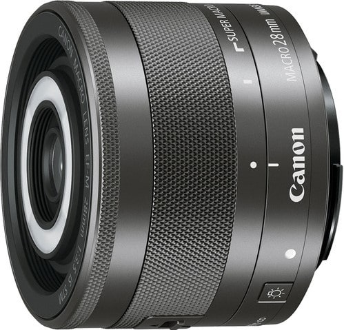 Canon EF M 28mm F3.5 Macro IS STM Lens