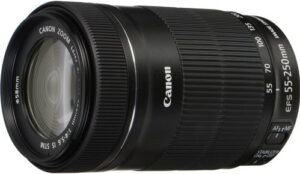 Canon EF S 55 250mm F4 5.6 IS STM Lens