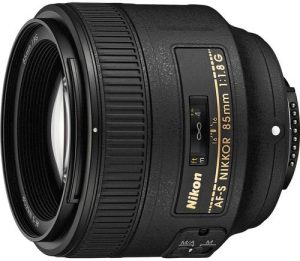 Nikon AF S NIKKOR 85mm F1.8G Fixed Lens