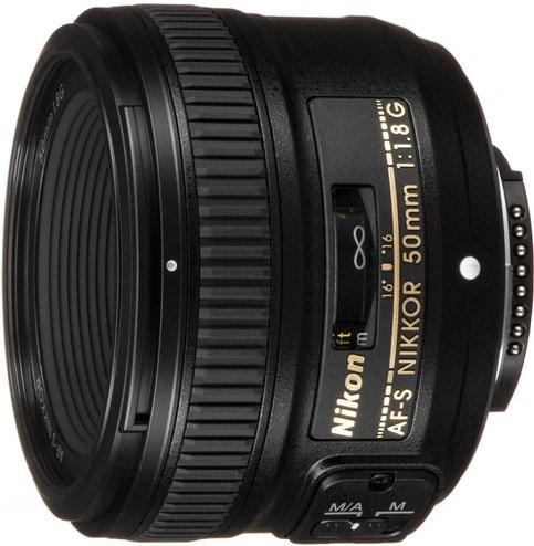 Nikon AF S Nikkor 50mm F1.8G Lens