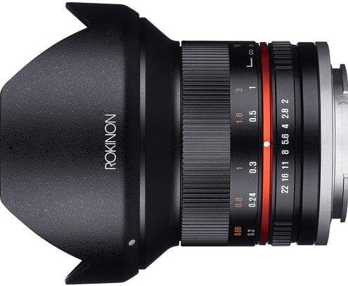 Rokinon 12mm F2.0 NCS CS Lens