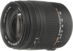 Sigma 18-250mm F3.5 6.3 DC Macro OS HSM Lens