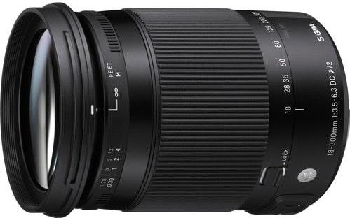 Sigma 18-300mm F3.5 6.3 DC Lens