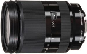 Sony E 18 200mm F3.5 6.3