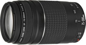 Canon EF 75-300mm F4-5.6 Telephoto Zoom Lens