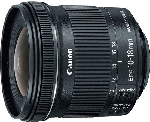 Canon EF-S 10-18mm F4.5-5.6 Lens