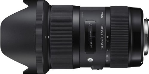 Sigma 18-35mm F1.8 Zoom Lens