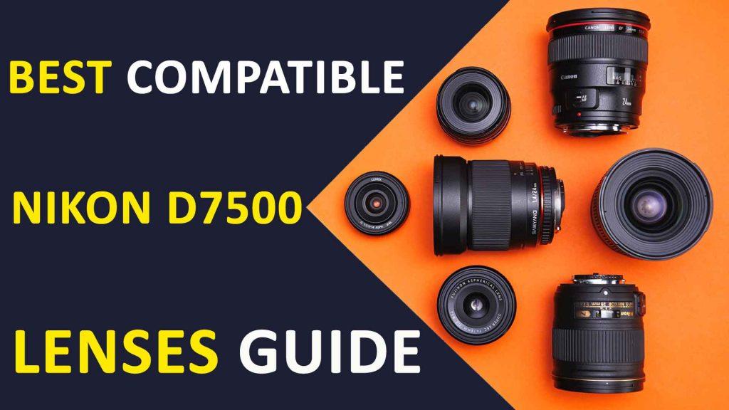 Nikon D7500 Lenses